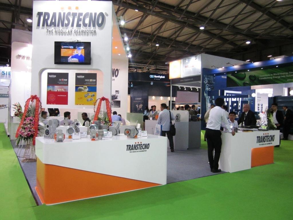 Hộp giảm tốc Transtecno tham gia triển lãm Thượng Hải PTC 2014