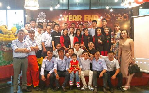 Enertech Year End Party - Kết thúc năm 2019 đầy trọn vẹn